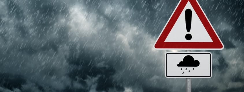 Schäden durch Unwetter