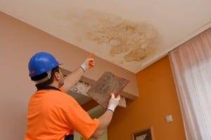 Wasserschaden Dach-Eindeckung