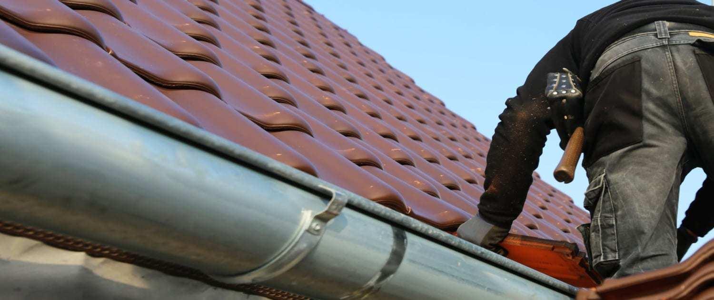 Wartung der Dach-Eindeckung